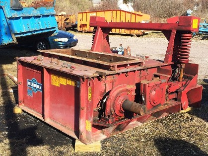 24 x 60 McLanahan Black Diamond Double Roll Crusher